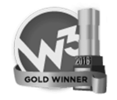 W³ Awards 2016 Gold Winner